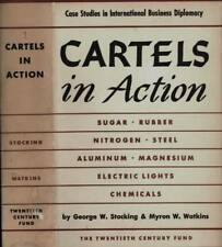 CARTELS IN ACTION SUGAR RUBBER STEEL CHEMICALS GEORGE STOCKING 1947