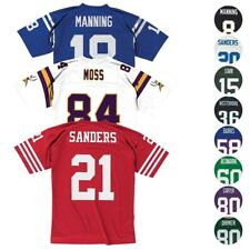 NFL Mitchell & Ness Men's Legacy Retro Local/Visitante/Alt Colección de Jersey