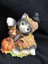 Calico Kittens Trick Or Treat Preferably Catnip Figurine 1999