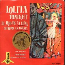 LOLITA MOON RIVER TONIGHT  EP Spain 1962
