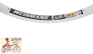 """WEINMANN DM30   48H---26"""" x 1.75 SILVER BICYCLE RIM"""