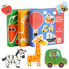 Kids Wooden Jigsaw Puzzle Dimensional Toy Children Cartoon Educational Toy YI