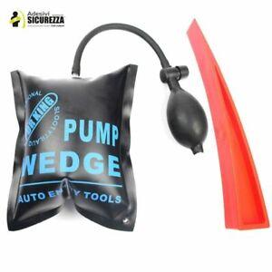 PDR per ammaccature auto e sportelli, con cuneo e pompa gonfiabile grande pesi