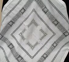Cotton Embroidery Antique Linens English