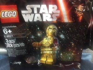 Lego Star Wars The Last Jedi Rare C-3PO Red Arm Minifigure Polybag 5002948