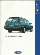 Escort Car Sales Brochures 1994