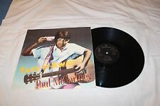 """Paul McCartney 12"""" Import  Single with Original Cover-TAKE IT AWAY+2"""