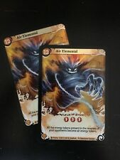 SEASONS Board Game - x2 AIR ELEMENTAL Exclusive Alternate Art Promo by ASMODEE