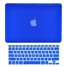 "Unik Case-2 in 1 Matte Hard Case /& Silicone Skin for Macbook 13/"" Air-Royal Blue"