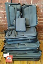 American Tourister Wickford 6 Piece Nested Soft Luggage Set NWT Green FAST SHIP