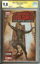 WINTER SOLDIER: THE BITTER MARCH #3 CGC 9.8 WHITE PAGES