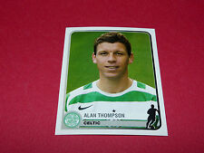 122 ALAN THOMPSON CELTIC GLASGOW UEFA PANINI FOOTBALL CHAMPIONS LEAGUE 2005 2006