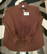 Gianfranco Ferre GF Herren Hemd - Farbe Braun - Neu mit Etikett Gr. XL (43)