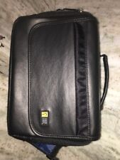 Case Logic®  Carrying Case, Black, Leather, Portable DVD Player Case