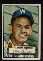 1952 Topps #245 Sherry Robertson VG/VGEX Senators A3693