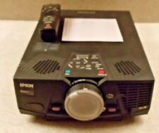Epson LCD Projector ELP-7500 w/Remote Manual on CD