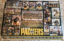 1996 1997 Green Bay Packers Super Bowl Poster Huge Costacos Bros Still In Tube