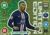 Panini Adrenalyn XL Fifa 365 2021 Edition Limitée Kylian Mbappe