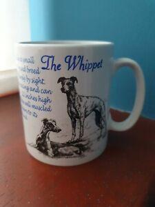 Whippet mug Whippets mugs dog mug dogs coffee cup coffee mug animals pets gift