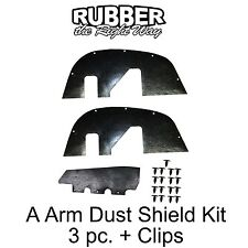 1997 1998 1999 2000 Chevy Tahoe Suburban A Arm Dust Shields - 4WD