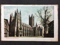RP Vintage Postcard - Kent #12  - Canterbury Cathedral - 1907