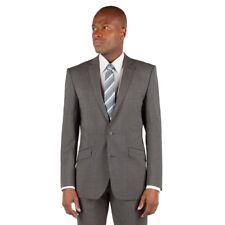 Ben Sherman Men's Grey Kings Fit Plain Suit Jacket UK Size 42R £175 BNWT