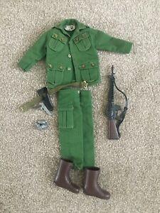 Vintage Action Man Green Beret part Uniform