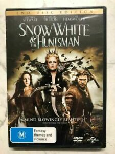 Snow White & The Huntsman | 2 Disc | M | DVD Reg 4 | Disc and Cover Only No Case