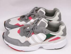 Adidas Mens 11 Originals Yung-96 Sneakers Shoes Athletic Walking Grey DB2608 NWT