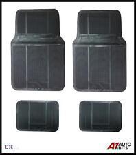 4 PCS BLACK RUBBER NON-SLIP CAR MAT MATS SET FOR CITROEN C1 C2 C3 C4 C5 SAXO ZX
