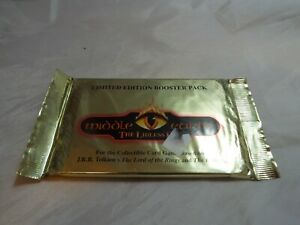 MIDDLE EARTH THE LIDLESS EYE SEALED BOOSTER PACK OF 15 CARDS