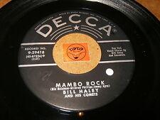 BILL HALEY - MAMBO ROCK - BIRTH OF THE BOOGIE  - LISTEN - ROCK N ROLL