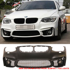 2011 AND UP BMW E92 LCI M4 STYLE FRONT BUMPER W/ FOG LIGHTS 2D COUPE CONVERTIBLE