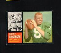 7304* 1962 Topps # 115 Sonny Jurgensen NM
