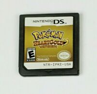 Pokemon Heart Gold Version Nintendo DS, 3DS Game Card Cartridge