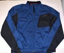 Specialized Full Zip Hybrid Cycling Jacket Men's Size Medium Blue & Black