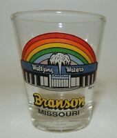 Branson Missouri Waltzing Waters Rainbow Souvenir Shot Glass