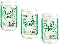 3 x 200g VITAL JUST GREENS Superfood Powder *  Antioxidants Cleansing Alkalising