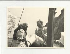 91914 FOTOGRAFIA FOTO ORIGINALE CAPRI  1960