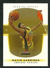 DAVID HARRISON 04-05 FLEER GENUINE UPSIDE DRAFT REFLECTION ROOKIE 6/10 PACERS