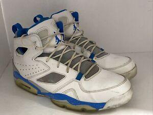Men's NIKE Air Jordan FLIGHT CLUB '91 Basketball Shoes 555475-104 Size 13
