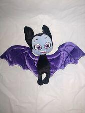 """Vampirina Bat Doll Plush Bean Bottom 8"""" Disney Store Toy Bat"""