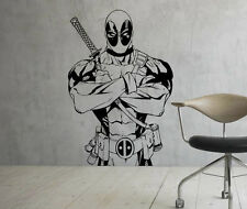 Deadpool Wall Decal Marvel Comics Vinyl Sticker Superhero Home Art Decor 18(nse)