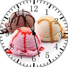 "Ice Cream wall Clock 10"" will be nice Gift and Room wall Decor E101"