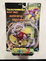 Hasbro Year 1998 Transformers Beast Wars Transmetals 2 Series Deluxe Class