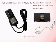 Global AC Adapter Charger For Kelement Wi-Fi Internet Radio Power Supply KWS430
