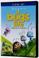 Disney Pixar A Bug's Life DVD 2003 2-Disc Collector's Edition English & French