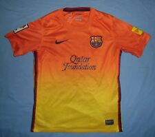 FC BARCELONA / 2012-2013 Away - NIKE - JUNIOR Shirt / Jersey. 10-12y, 140-152 cm