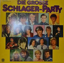 "Large schlager-party - Roland Kaiser - PUPO - Rex Gildo 12 "" 2 LP (n824)"