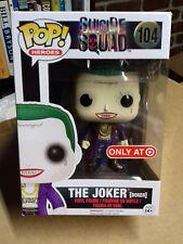 Funko Pop Vinyl Suicide Squad-Le Joker [Boxer] (104) cible T10